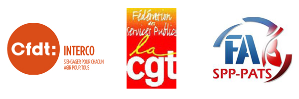 INTERSYNDICALE CFDT - CGT - FA